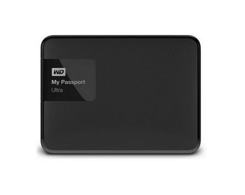 WD My Passport Ultra New 500GB USB 3.0 - Hitam. Premium Portable Storage   Tempat Penyimpanan File pada Harddisk External yang Handal